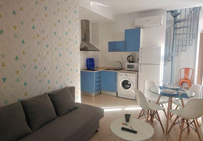 Ferienwohnung in Valencia ciudad - Coroa del Mar Duplex Grande