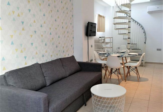 Apartment in Valencia ciudad - Coroa del Mar Duplex Medio